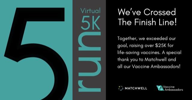 Vaccine Ambassadors Celebrates Exceeding Goal for Virtual 5K Run