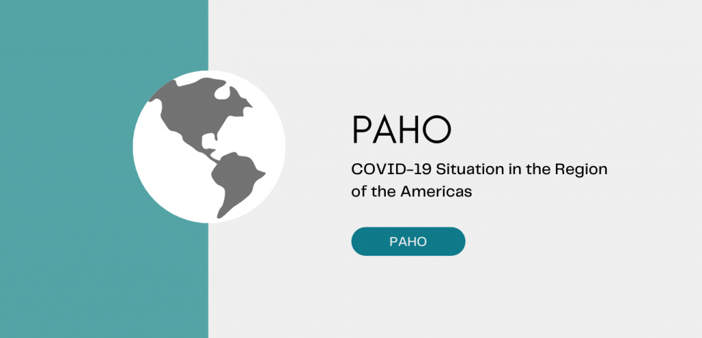 PAHO - COVID-19 Situation in the Region of the Americas